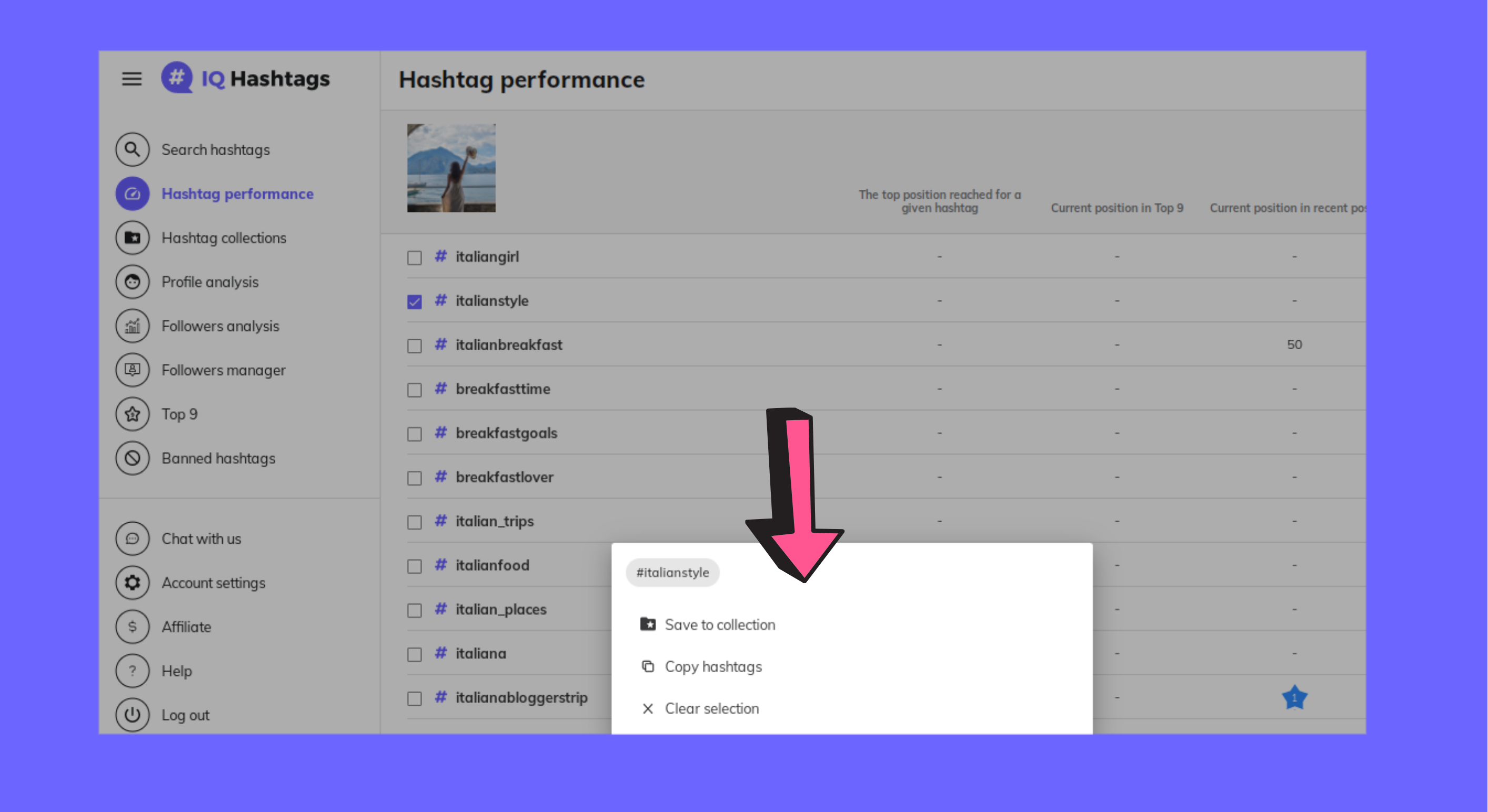 How to organize your hashtags into categories