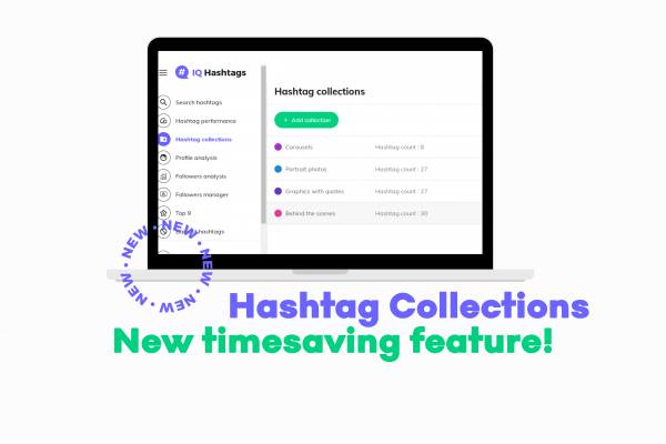 Organize hashtag lists all in one place