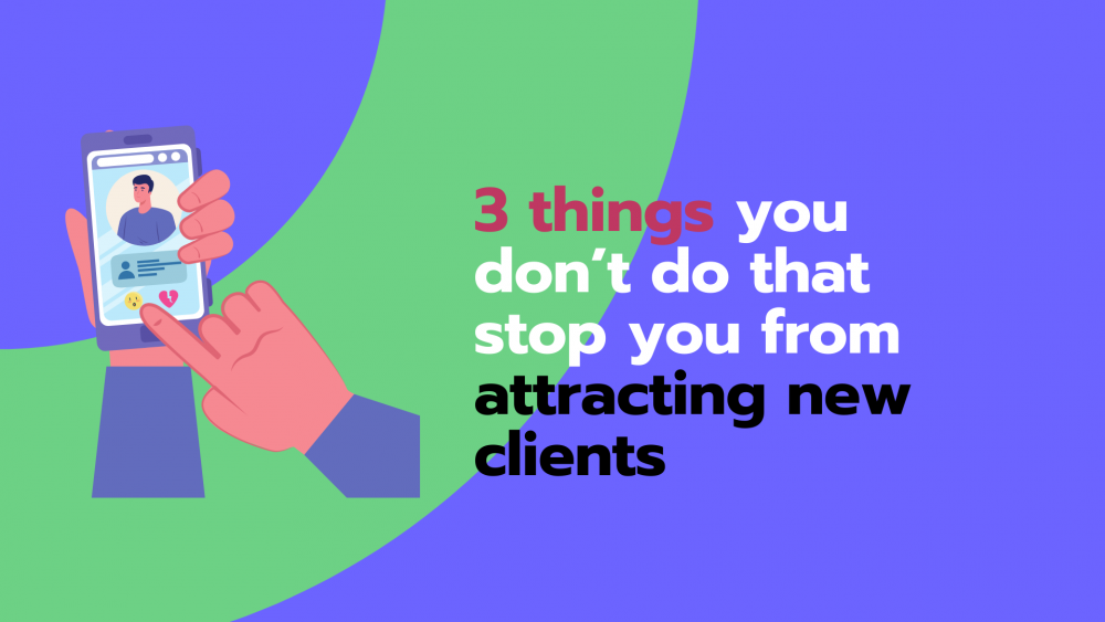 how to attract new clients instagram