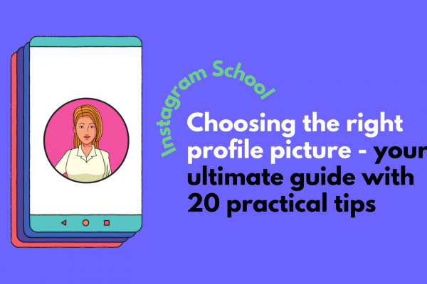 how to choose the best profile picture instagram
