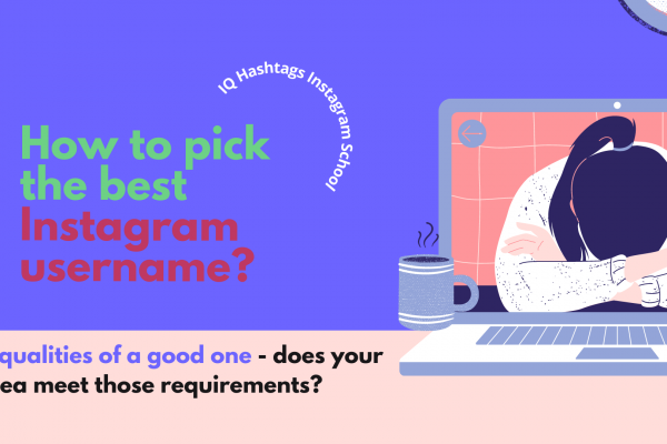 what instagram username should i use