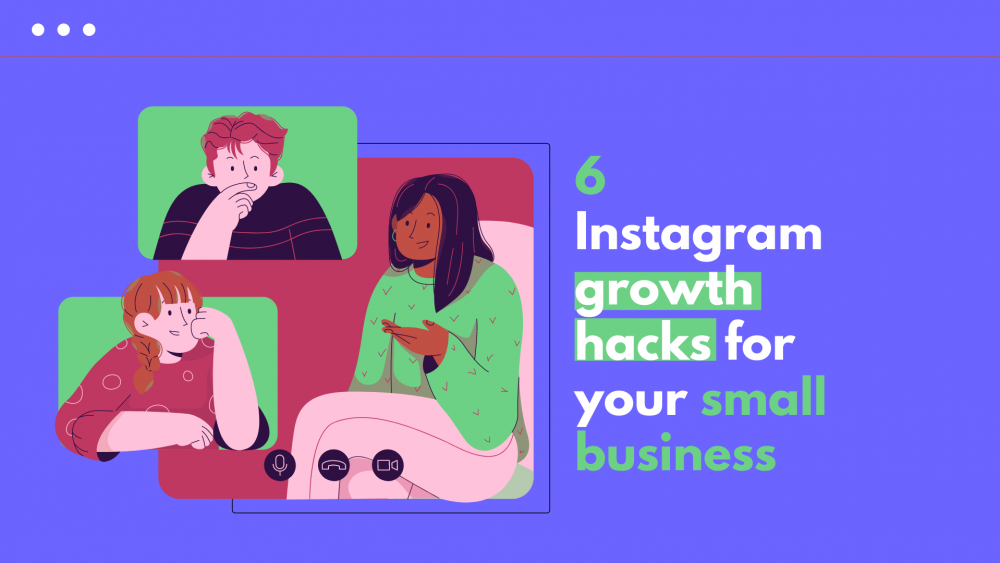 Instagram growth hacks for small business