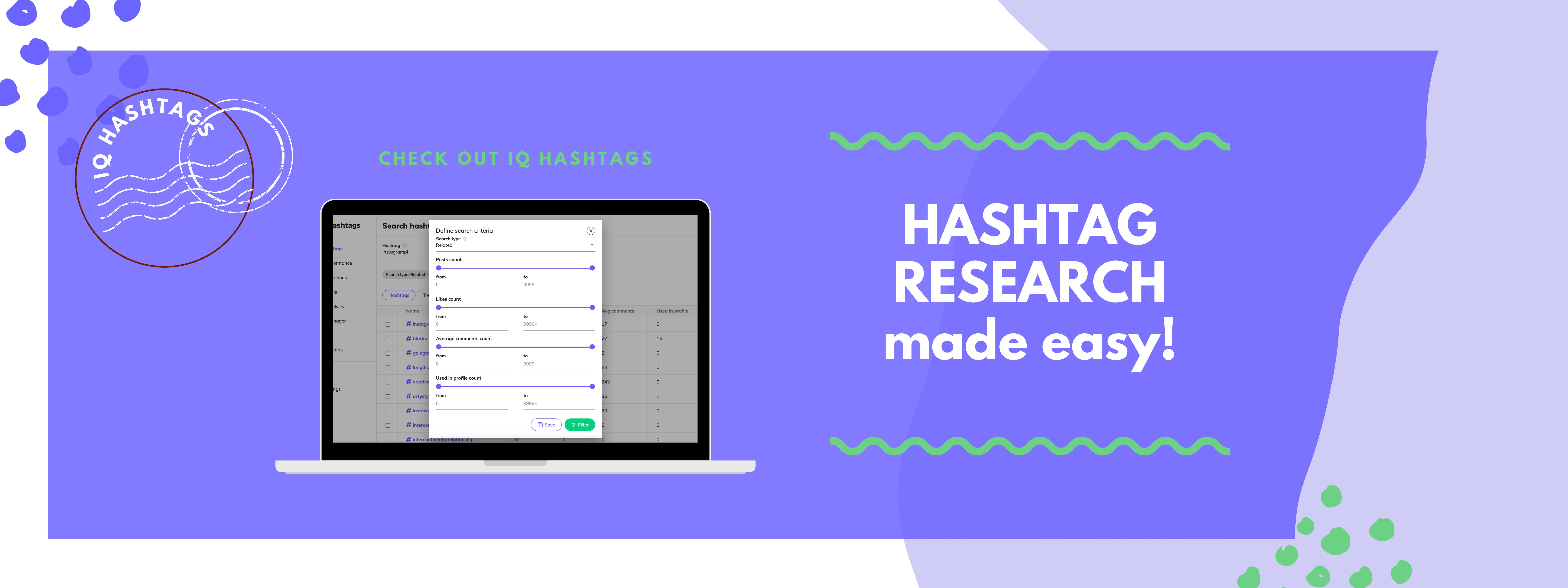 best hashtags finder